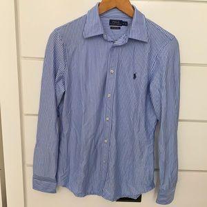 Polo Ralph Lauren Knit Dress Shirt (slim fit)
